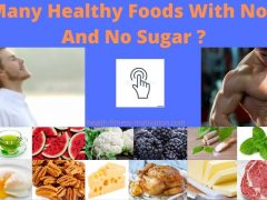 How Many Healthy Foods With No Carbs And No Sugar