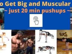 How To Get Big and Muscular Arms