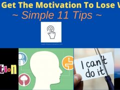 How To Get The Motivation To Lose Weight