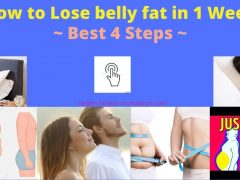 How to Lose Belly Fat Permanently in 1 Week