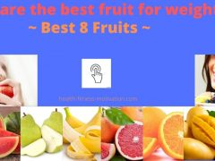 What are the best fruit for weight loss