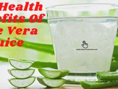 The Health Benefits Of Aloe Vera Juice