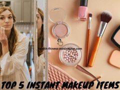 Top 5 Instant Makeup Items
