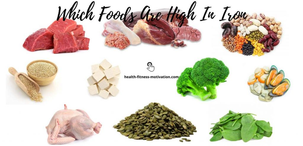 Which Foods Are High In Iron