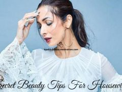 Secret Beauty Tips For Housewives