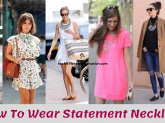 How To Wear Statement Necklaces